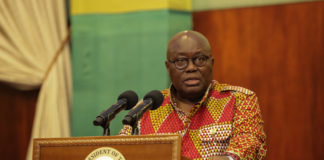 Akufo-Addo in 14 days self-isolation