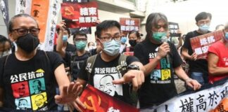 Hong Kong: First arrest as 'anti-protest' law kicks in on handover anniversary