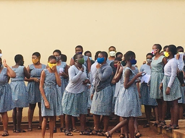 55 test positive for COVID-19 at Accra Girls' SHS