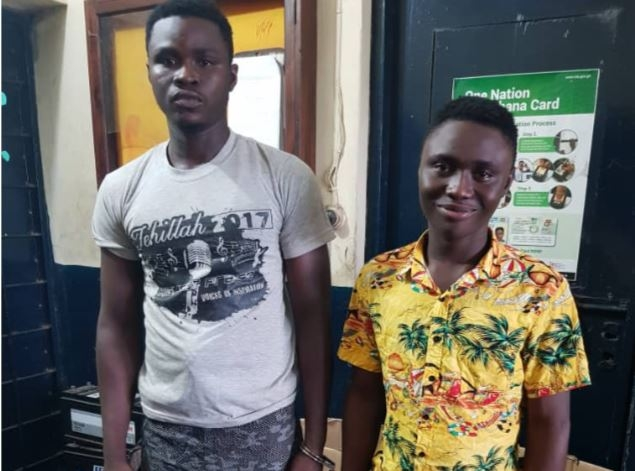 V/R: 2 jailed 46 years in Ho for robbery