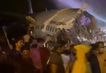 Kerala plane crash: Air India plane breaks in two at Calicut runway