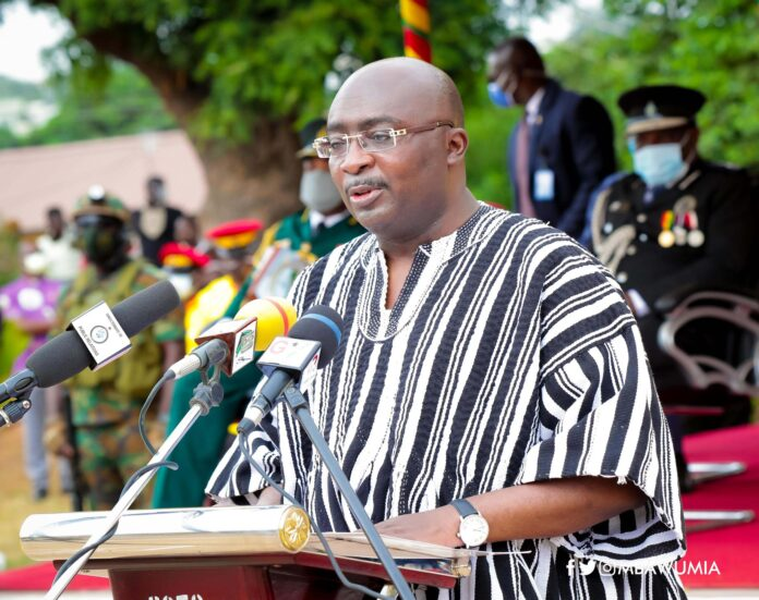 CAP 30 for all Security Services - Bawumia announces