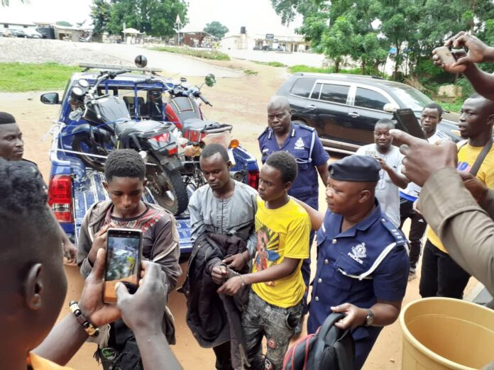 Three Armed Men Who Robbed Damongo NPP Campaign Members Arrested