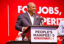 I moved Ghana's economy from 41.6b to 54.5b in four years – Mahama