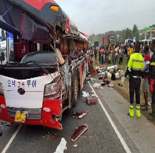 11 killed, 80 injured in multiple bus accident at Kyekyewere