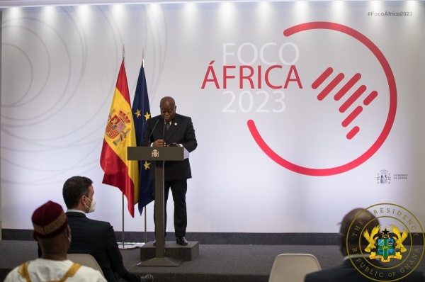 AfCFTA opportunities enormous – Akufo-Addo to Spanish gov't